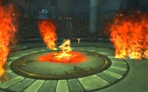 Огненный босс