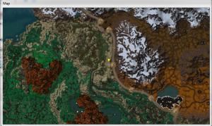Карта локации