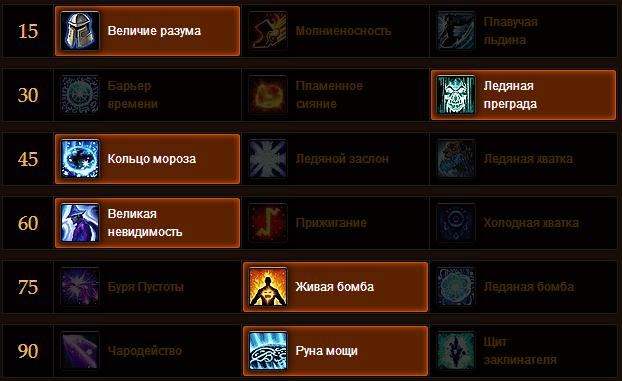 PvE спек Фрост Мага
