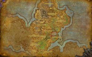 Карта спавна Дрова