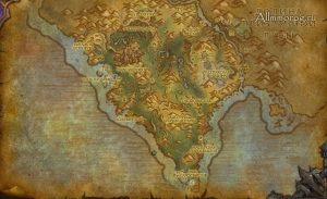 Карта спавна Рухмара