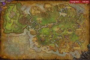 Карта сундуков с сокровищами в Награнде