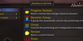 Weak Auras