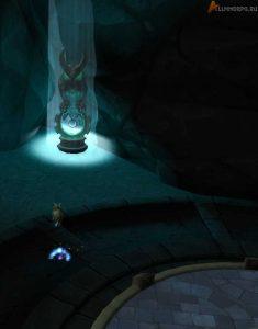 Свет Элуны можно получить, прикоснувшись к статуе Часового