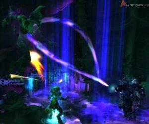 Колодец душ наносит урон всем игрокам рядом с основной целью