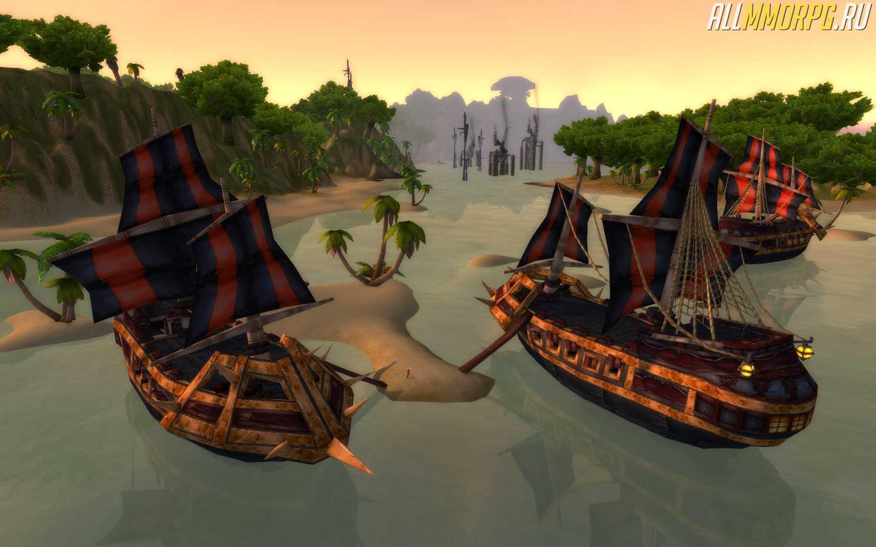 Пираты Кровавого Паруса — гайд по прокачке репутации