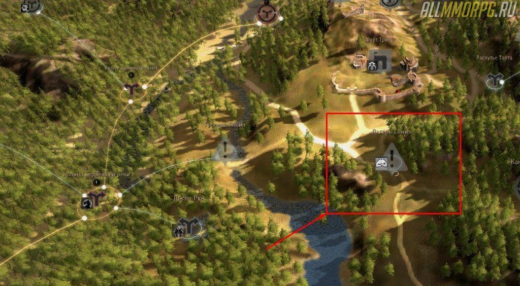 Уровень 42 – 45: Лагерь Сонил