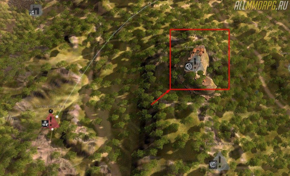 Уровень 51 – 54: Храм Эллик