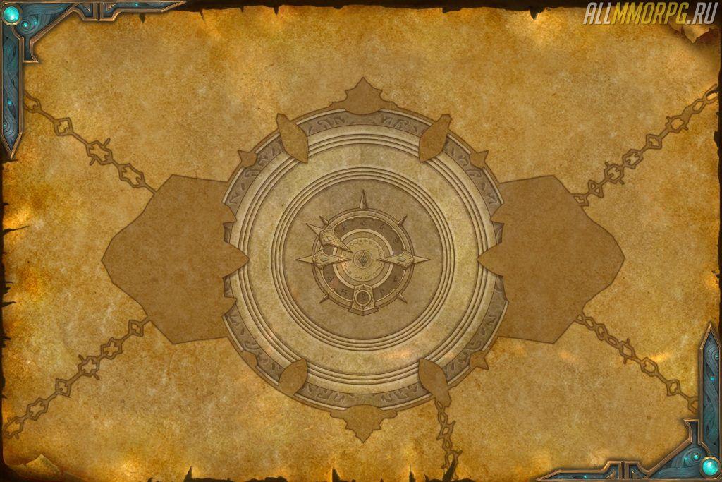 карта зала Резчика душ