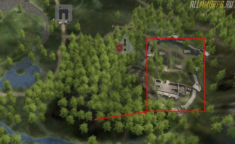 Уровень 18 – 24: Руины замка