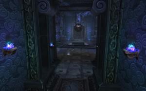 Темный зал гробницы