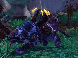 Поводья синего верхового тигра Шадо-Пан