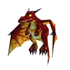 Багровый дракнончик