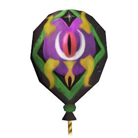 Воздушный шар ярмарки новолуния