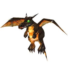 Маленький темный дракончик