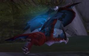 Птенец дикого грозового террокрыла