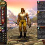 Создание персонажа в WoW 2.4.3