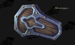 Кованый стальной щит