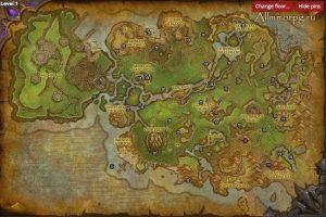 Карта редких монстров