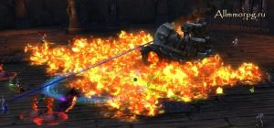 Танк создает Пламень, если его не убить достаточно быстро