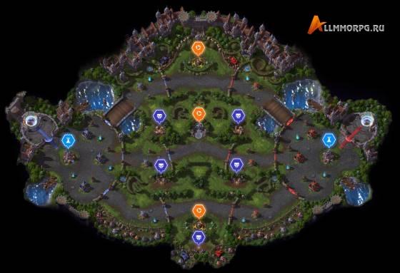 Карта Драконьего края