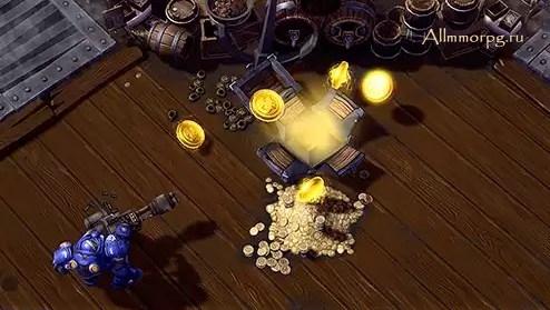 Захват сундуков - один из самых эффективных способов получения дублонов.