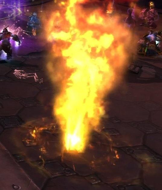 Извержение Жгучего пламени