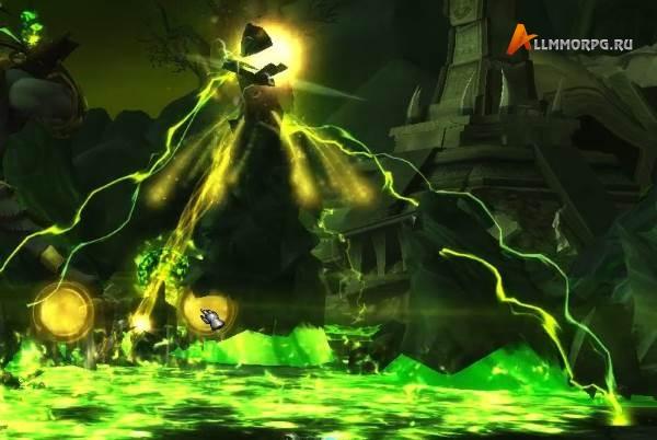 Ирель разрушает шпиль Осквернения, чтобы создать сферу Света Наару