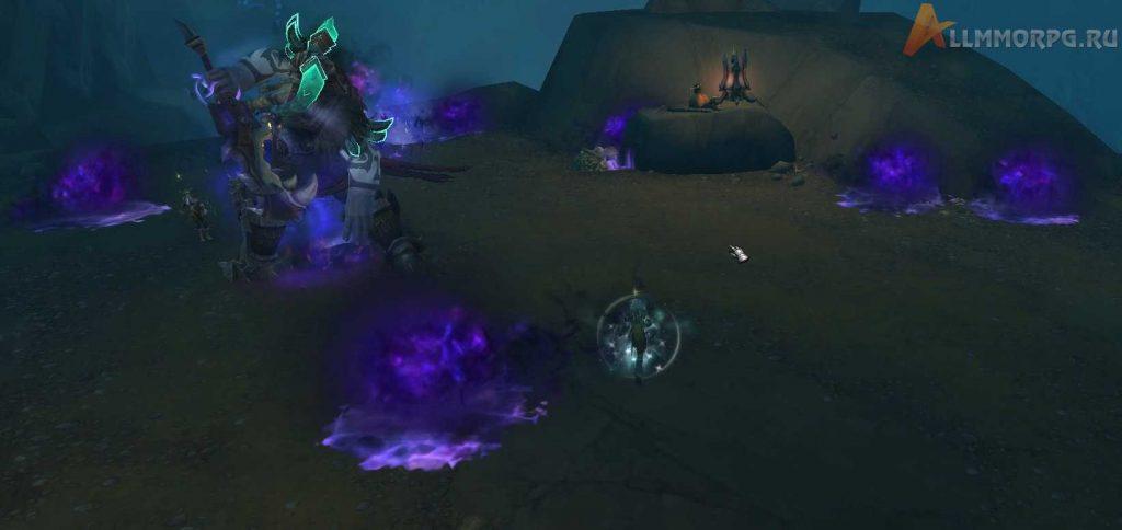 Погибель наносит урон игрокам, перехватившим сферы