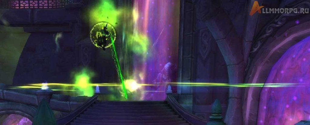 Лорд Малгат открывает портал в Круговерть Пустоты