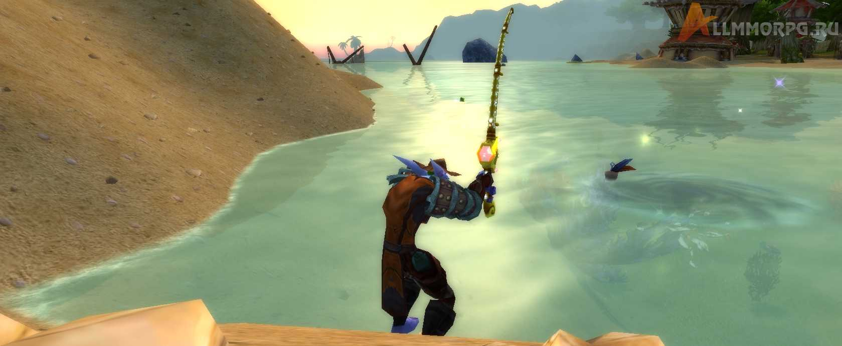 как быстро прокачать рыбалку в wow