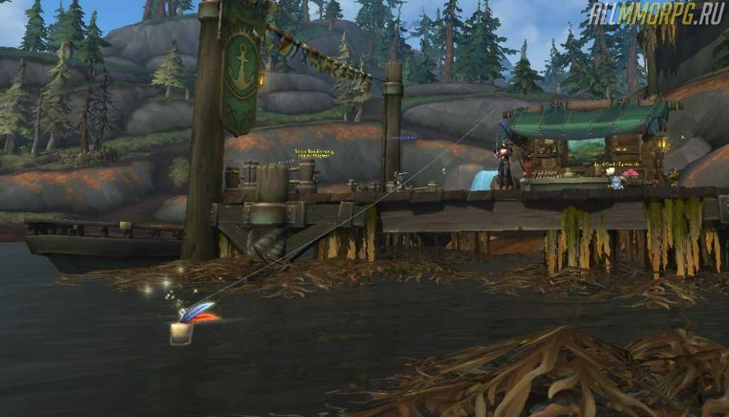 [Гайд]: Рыбная ловля: полная прокачка профессии (до 450) на 10-м (!) уровне персонажа